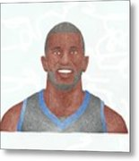 Jason Richardson Metal Print by Toni Jaso