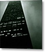 John Hancock Building - Chicago Illinois Metal Print by Michelle Calkins