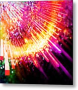 Lighting Explosion Metal Print by Setsiri Silapasuwanchai