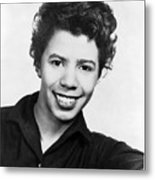Lorraine Hansberry 1930-1965 African Metal Print by Everett