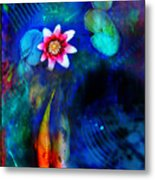 Lovers Metal Print by Gina Signore