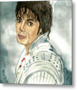 Michael Jackson - Captain Eo Metal Print by Nicole Wang