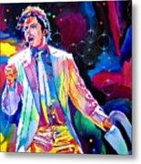 Michael Jackson Smooth Criminal Metal Print by David Lloyd Glover