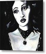 Monica Metal Print by Scarlett Royal