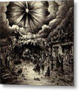 Night In Bethlehem Metal Print by Rachel Christine Nowicki