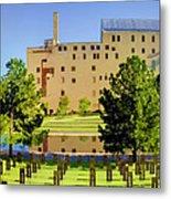 Oklahoma City National Memorial Metal Print by Ricky Barnard