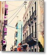 Old San Juan Puerto Rico Metal Print by Kim Fearheiley