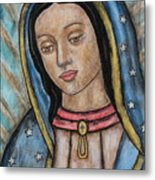 Our Lady Of Guadalupe Metal Print by Rain Ririn