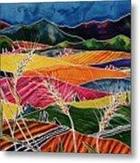 Palouse Fields Metal Print by Carolyn Doe