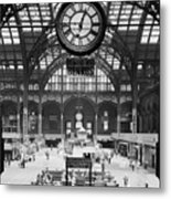 Pennsylvania Station, Interior, New Metal Print by Everett