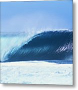 Perfect Wave At Pipeline Metal Print by Vince Cavataio - Printscapes