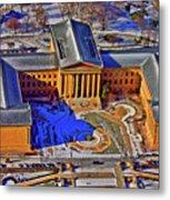 Philadelphia Museum Of Art 26th Street And Benjamin Franklin Parkway Philadelphia Pennsylvania 19130 Metal Print by Duncan Pearson