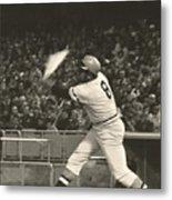 Pittsburgh Pirate Willie Stargell Batting At Dodger Stadium  Metal Print by Jamie Baldwin