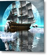 Polar Expedition Metal Print by Claude McCoy