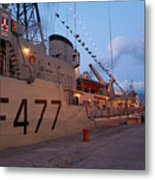 Portuguese Navy Frigates Metal Print by Gaspar Avila