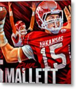 Ryan Mallett Metal Print by Jim Wetherington