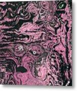Soul Felt Metal Print by  Laurie Homan