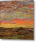Sunset Metal Print by James W Johnson