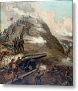 The Capture Of Fort Fisher Metal Print by War Is Hell Store