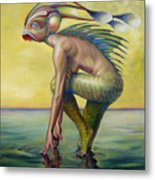 The Finandromorph Metal Print by Patrick Anthony Pierson
