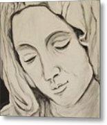 The Madonna Metal Print by Jean Billsdon