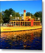 The Minnehaha Metal Print by Perry Webster