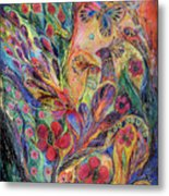 The Olive Tree Metal Print by Elena Kotliarker