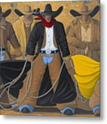 The Posse Metal Print by Lance Headlee