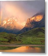 Torres Del Paine - Patagonia Metal Print by Carl Amoth