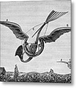 Trouv�s Ornithopter Metal Print by Granger