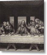 The Last Supper Metal Print by Leonardo da Vinci