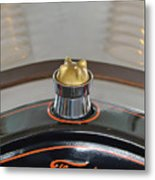 1924 Ford Model T Roadster Hood Ornament Metal Print by Jill Reger