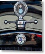 1928 Dodge Brothers Hood Ornament Metal Print by Jill Reger