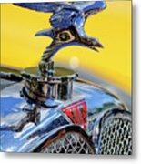 1932 Alvis Hood Ornament Metal Print by Jill Reger
