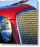 1937 Cadillac V8 Hood Ornament 2 Metal Print by Jill Reger