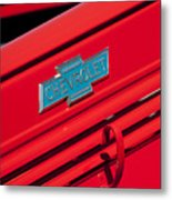 1938 Chevrolet Pickup Truck Emblem Metal Print by Jill Reger