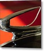 1939 Chevrolet Hood Ornament 2 Metal Print by Jill Reger