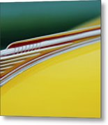 1941 Chevrolet Sedan Hood Ornament Metal Print by Jill Reger