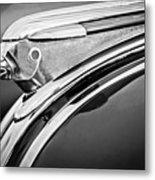 1948 Pontiac Chief Hood Ornament 2 Metal Print by Jill Reger