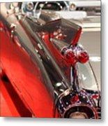 1959 Cadillac Convertible . Wing View Metal Print by Wingsdomain Art and Photography