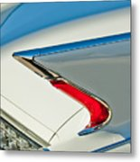 1960 Cadillac Eldorado Biarritz Convertible Taillight Metal Print by Jill Reger