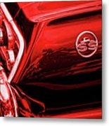 1963 Chevrolet Impala Ss Red Metal Print by Gordon Dean II