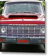 1964 Plymouth Savoy Hemi  Metal Print by Gordon Dean II
