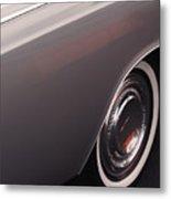 1968 Vintage Lincoln Sedan Fender Metal Print by Anna Lisa Yoder
