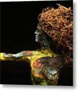 Alight A Sculpture By Adam Long Metal Print by Adam Long