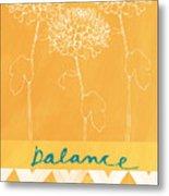 Balance Metal Print by Linda Woods