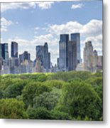 Central Park South Metal Print by Ariane Moshayedi
