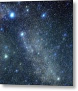 Cygnus Constellation Metal Print by John Sanford