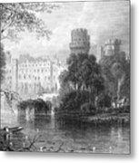 England: Warwick Castle Metal Print by Granger