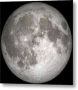 Full Moon Metal Print by Stocktrek Images
